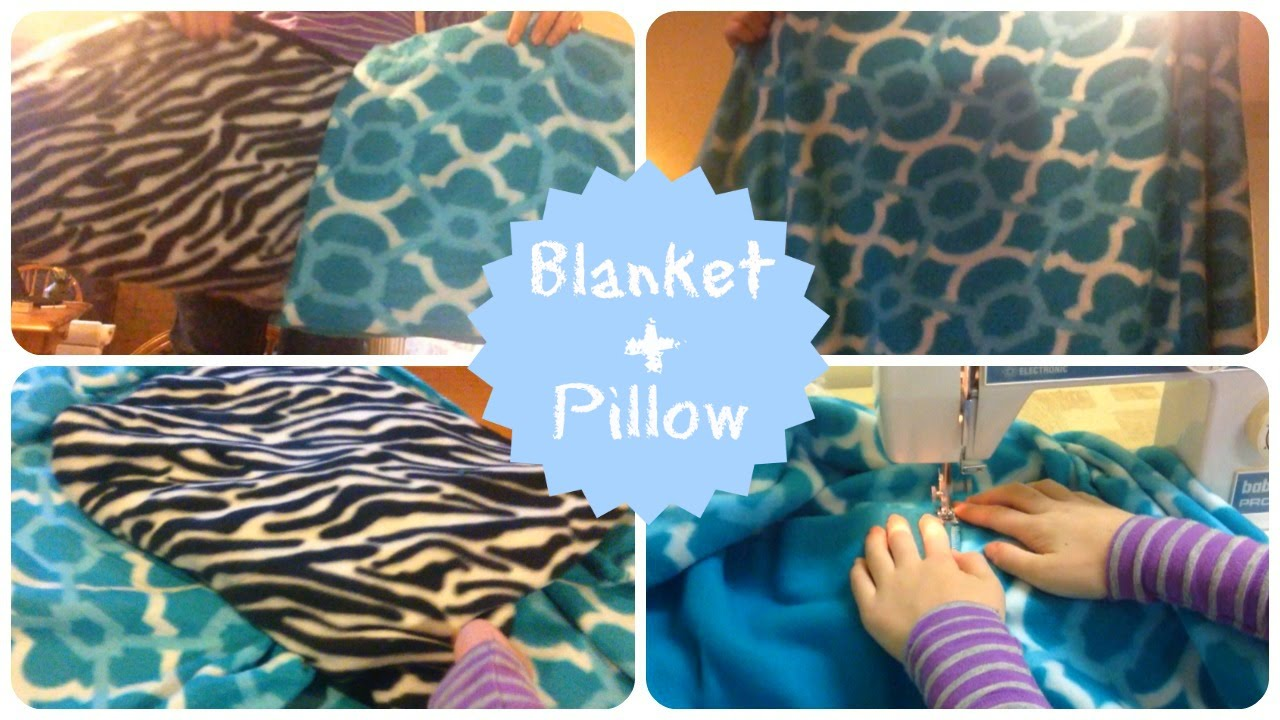 2 in 1 blanket pillow