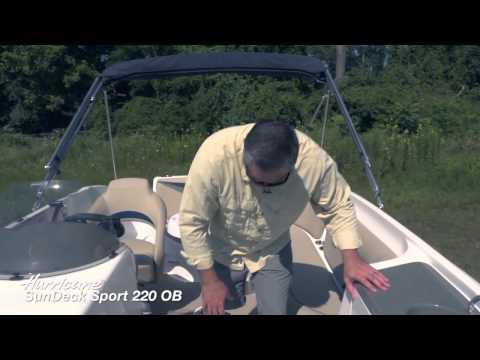 Hurricane SunDeck Sport 220 OB Product Walk-Through