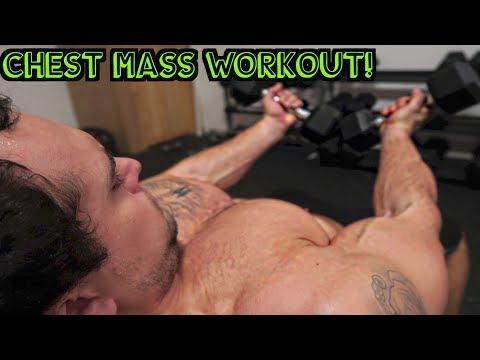 Intense 15 Minute Gym Chest Workout for Muscle Mass