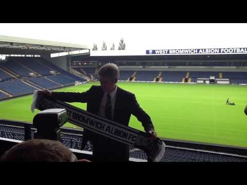 Steve Madeley Reviews Alan Irving's First West Brom Press Conference