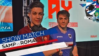 SAMPDORIA eSports VS ROMA eSports - IL PRIMO MATCH TRA DUE CLUB DI SERIE A