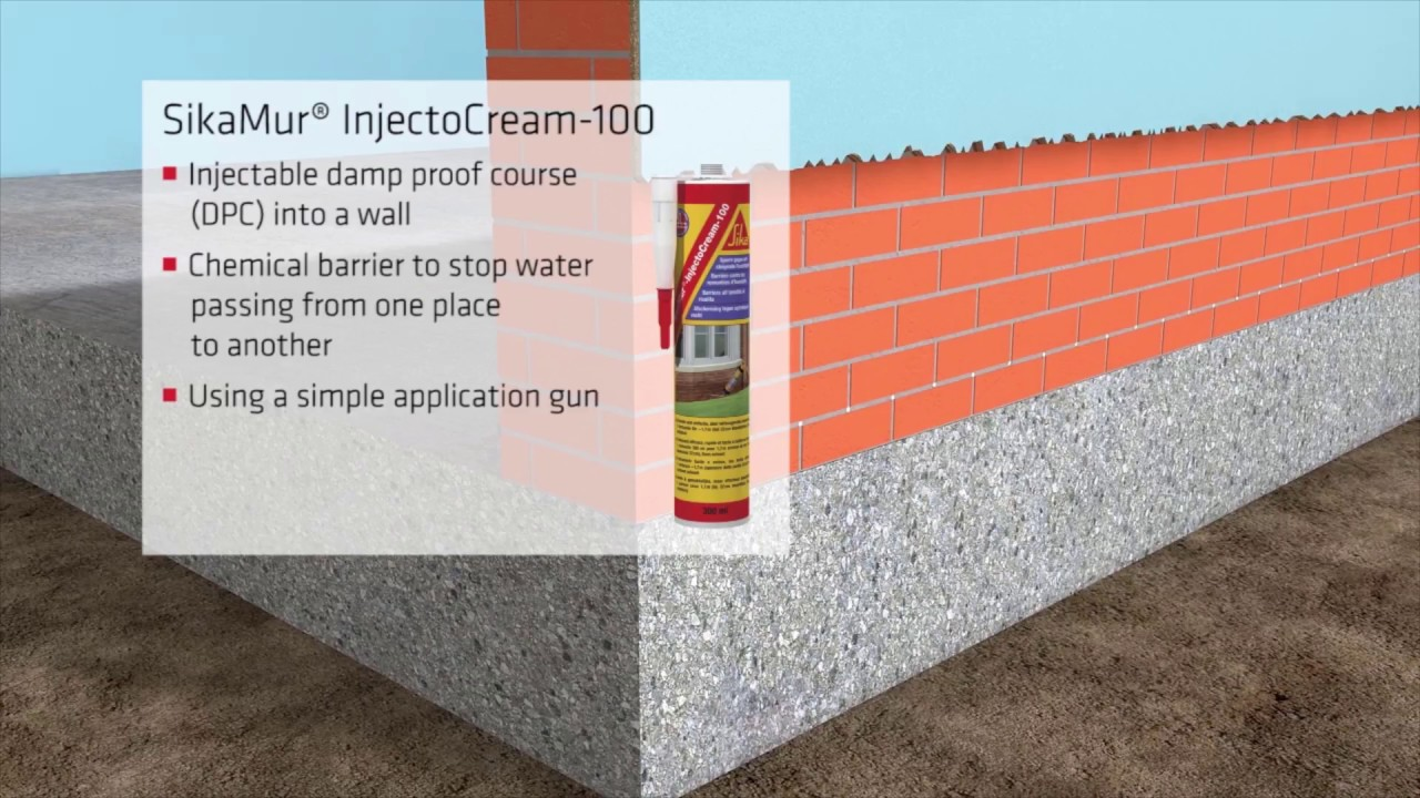 SIKA SIKAMUR INJECTOCREAM-100 RISING DAMP BARRIER