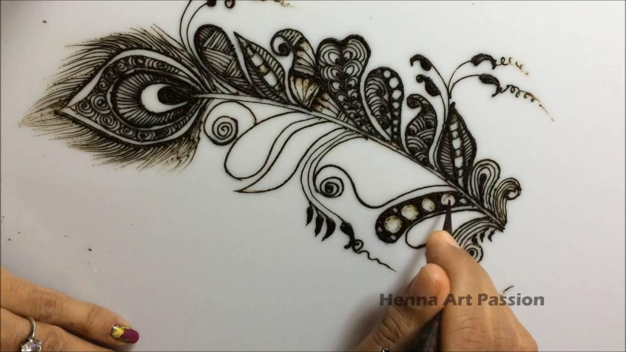 Mehndi Zentangle : Simple mehendi chapter zentangle art inspire