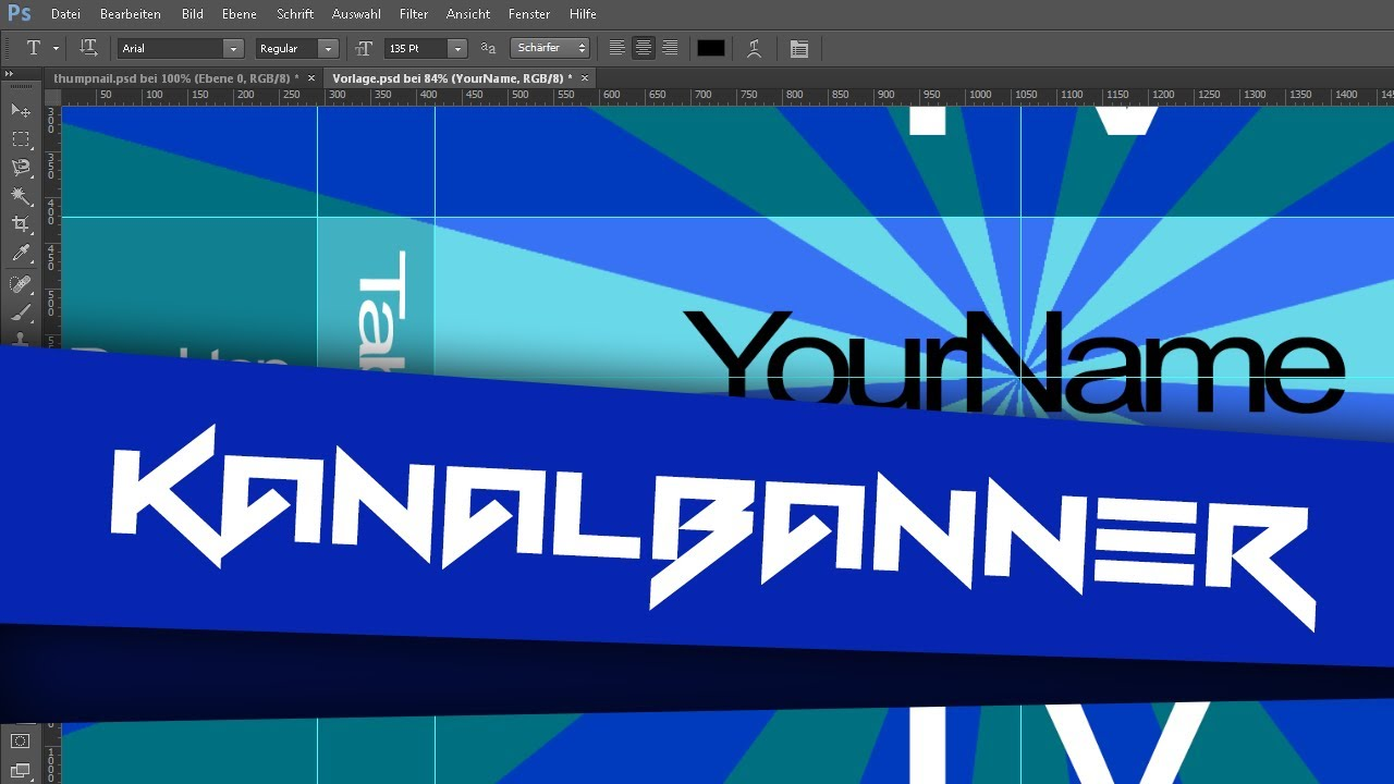 YouTube: Kanalbanner Template [Ger|HD|PCStudioHDx] - YouTube