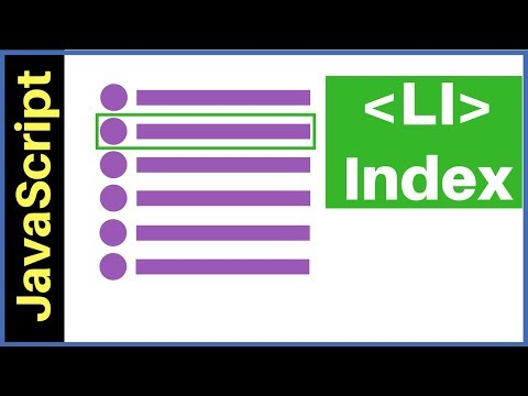 JavaScript - How To Get Selected LI Index From UL List In JS [with Source Code]