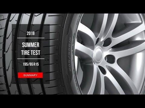 2018 summer tire test results 195 65 r15 youtube. Black Bedroom Furniture Sets. Home Design Ideas