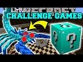 Minecraft: ARCTIC SCORPION CHALLENGE GAMES - Lucky Block Mod - Modded Mini-Game