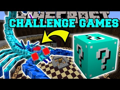 Thumbnail: Minecraft: ARCTIC SCORPION CHALLENGE GAMES - Lucky Block Mod - Modded Mini-Game