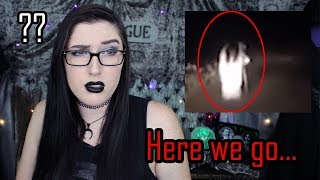 Exhausted Goth Reacts to Scary Witch Video