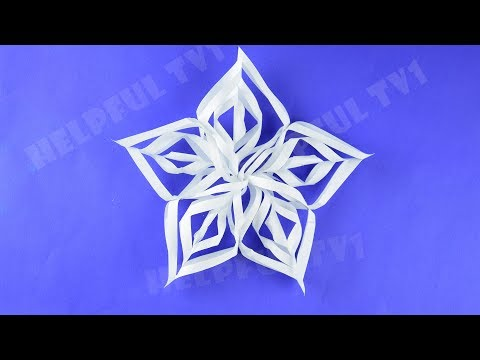 Christmas Decoration ✳ DIY✳paper Star for New Year room's decor