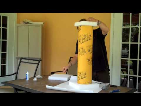 How To Make Diy Lighted Wedding Columns.Greek Pillar