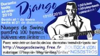 Webster : play-back n°015b (Nuages de Swing 100 years Django 100 new play-a-long)