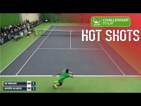 Canadian Teen Defence On Display In Drummondville Challenger Hot Shot 2017