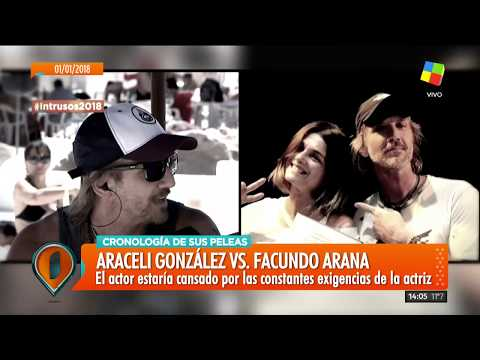 ¿Nueva pelea entre Facundo Arana y Araceli González?