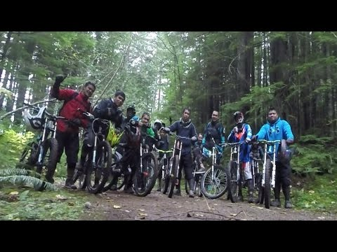20141108 Squamish Fall Group Ride Part II