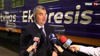 В Риге открыли модернизированное вагонное депо