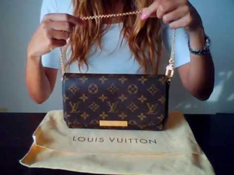cef6aa309ef3 Unboxing Louis Vuitton Favorite PM clutch. Silent ASMR - YouTube
