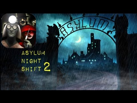 Asylum Night Shift 2 - NIGHT 1 - 3 -Compatible with iPhone, iPad, and iPod touch
