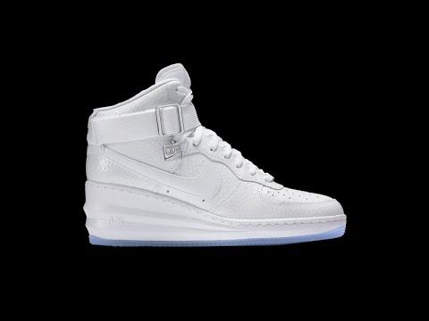 20150628 Nike 2015 Q2 Women LUNAR FORCE 1 SKY HIGH Fashion Sneaker  654850-101