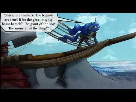 Luna The Pirate Comic Dub - Sage Version