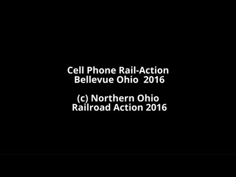 Cell Phone Rail-Action Bellevue Ohio  2016