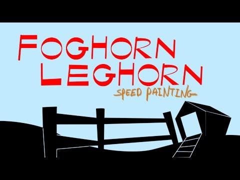 Foghorn Leghorn Band Foghorn Leghorn Speed Painting