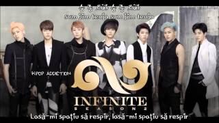 Infinite ~ (숨 좀 쉬자) breathe (album season 2) [romanian trans | han rom] hd