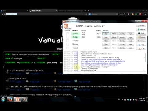 [VIDEO] Demo Tool Scanner Exploit - Inurl VietNam