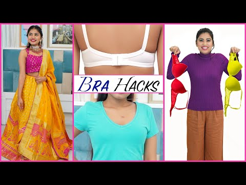 BRA/LINGERIE Fashion HACKS - What To Wear Under What? | #FashionTadka #Sale #Anaysa #DIYQueen