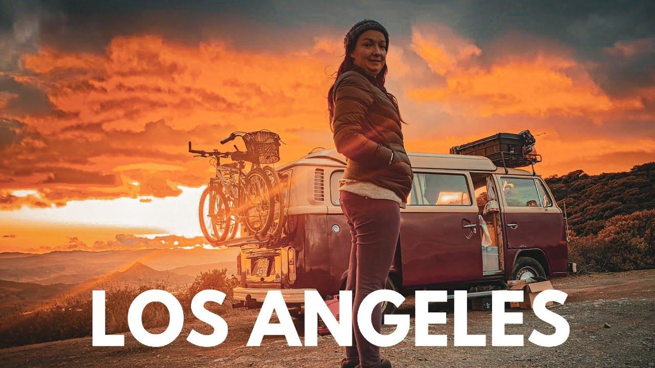 VW Road trip: van life in Los Angeles //S01E21
