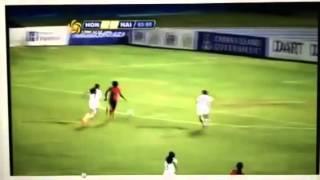 1e gol Nerilia Mondesir (Haiti vs Honduras)
