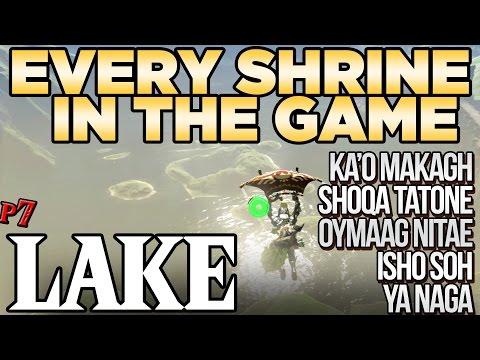 Every Shrine in Lake Tower - Shrine Hunters - Breath of the Wild