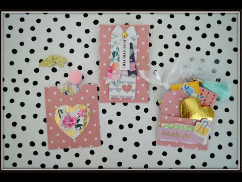 ✅ YES  ✅ 6x6 PAPER | Cute Teeny 4 Piece Happy Mail Idea Pack | Junk Journal Inserts | NO Scoreboard