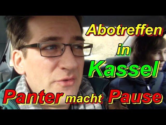 Kassel Abotreffen und der Panter macht endlich ne Pause [PP Vlog HD]