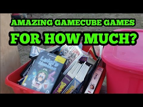 Live Goowill and Flea Market Video Game Hunting. Nintendo, xbox, playstation, psp, Gamecube,.
