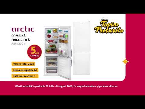 Combină frigorifică ARCTIC AK54270+   Topim Prețurile