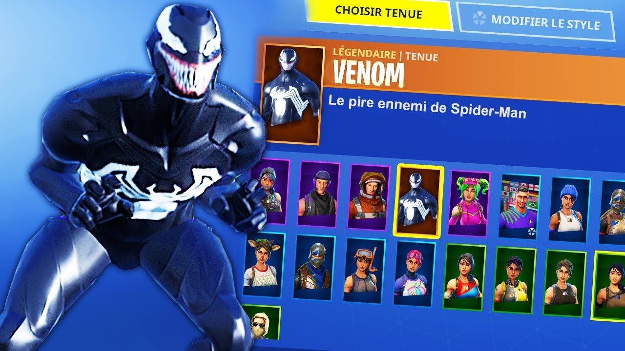 Skin Venom Sur Fortnite Youtube Том харди, мишель уильямс, риз ахмед и др. skin venom sur fortnite