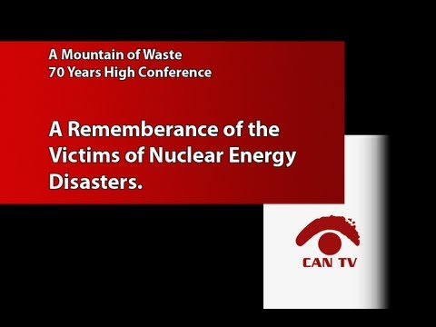 Remembrance of Nuclear Energy Disaster Victims