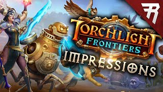 The Good & the Bad: Torchlight Frontiers Alpha aRPG Impressions & Gameplay Review