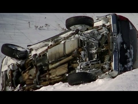 Superstorm Black Ice, Spin-outs, Accidents ! Winter Storm Midwest US, 11/11/2014