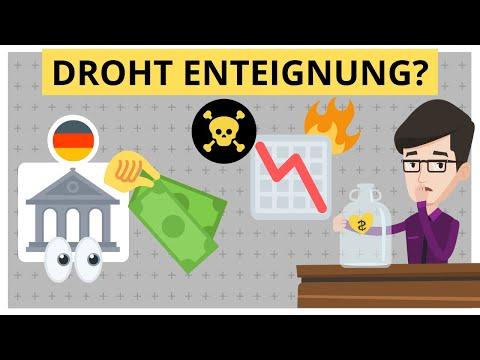 Krisenzeit: Wie sicher sind meine Investments & mein Geld? Enteignung Grundgesetz?