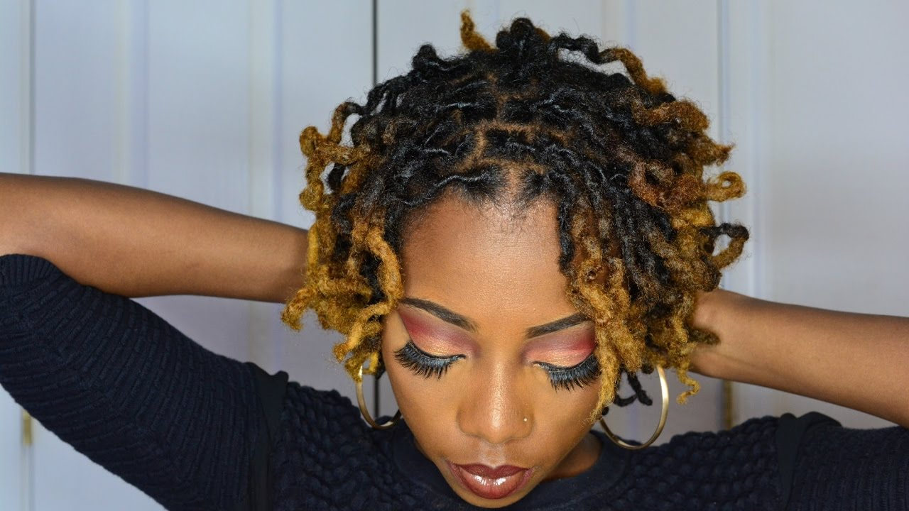 I Got My Locs Dyed For The First Time Youtube