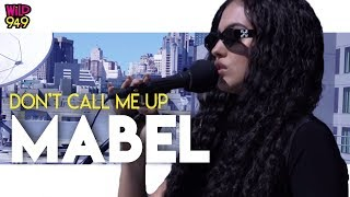 Don't Call Me Up - Mabel [Acoustic Performance] Video