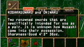 unlocked all the swords in soul of the samurai