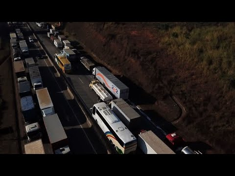 Striking truckers claim sector
