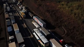 """Striking truckers claim sector's """"value"""" in Brazil"""