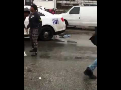 Philadelphia Police Officer Fight
