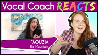 Download Lagu Vocal Coach reacts to Faouzia - This Mountain (Acoustic) mp3