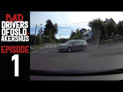 Bad Drivers of Oslo & Akershus, Norway | EPISODE 1