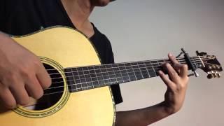 ดาว - คริสติน (Fingerstyle Guitar)   ปิ๊ก cover